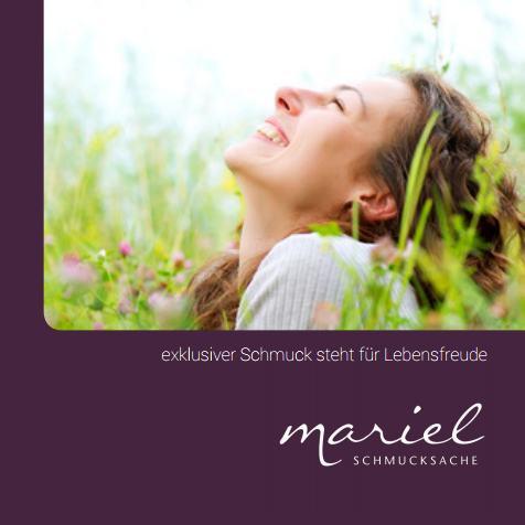 Flyer Schmuckdesign Mariel Schmucksache