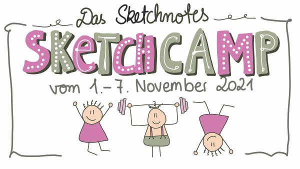 Das Sketchnotes Sketchcamp vom 1. - 7. November 2021