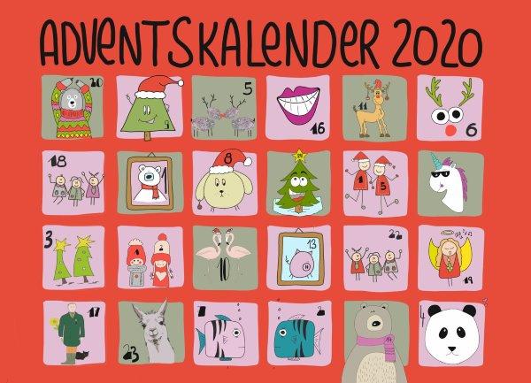 Funny Sketchnotes Adventskalender 2020