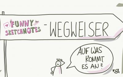 Dein Sketchnotes Wegweiser – meine kleine Sketchnotes Anleitung