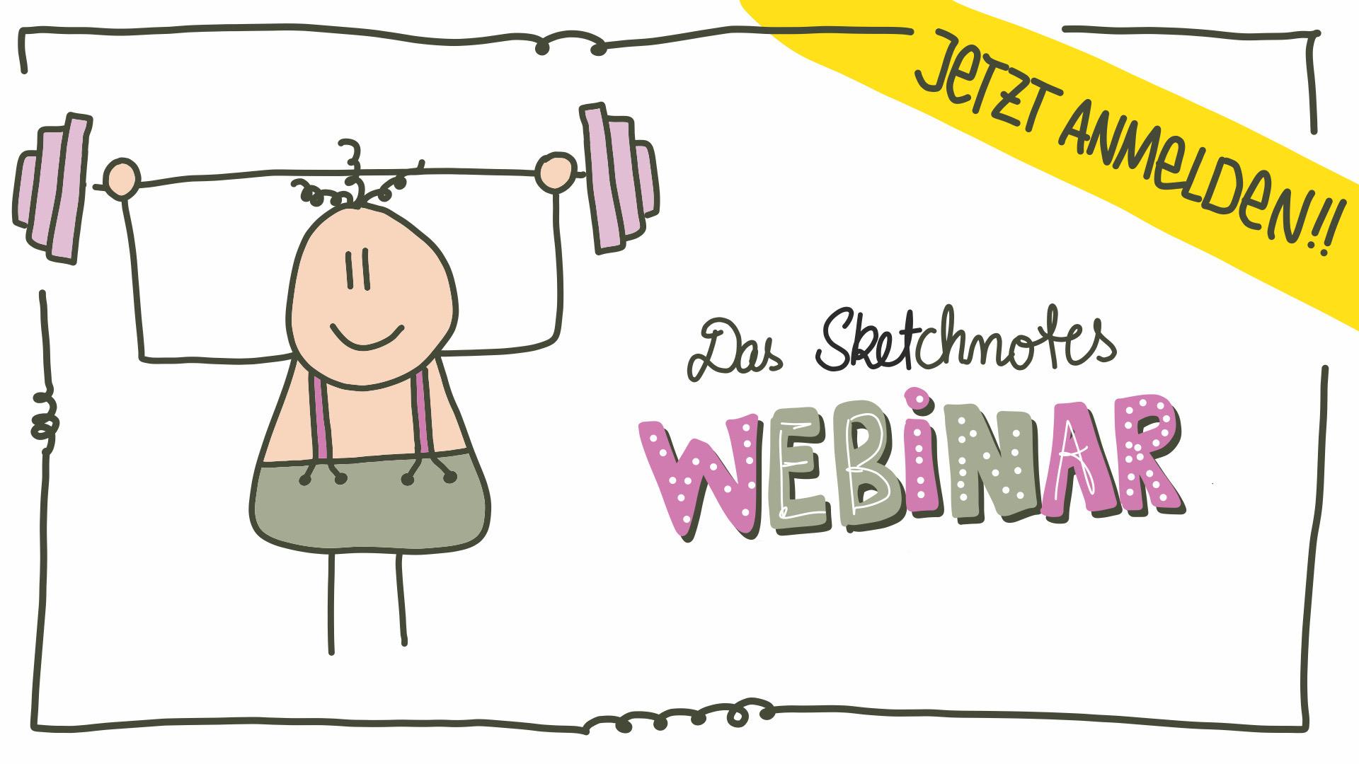 Sketchnotes Webinar kostenlos