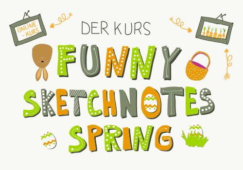 Funny Sketchnotes - Online-Kurs