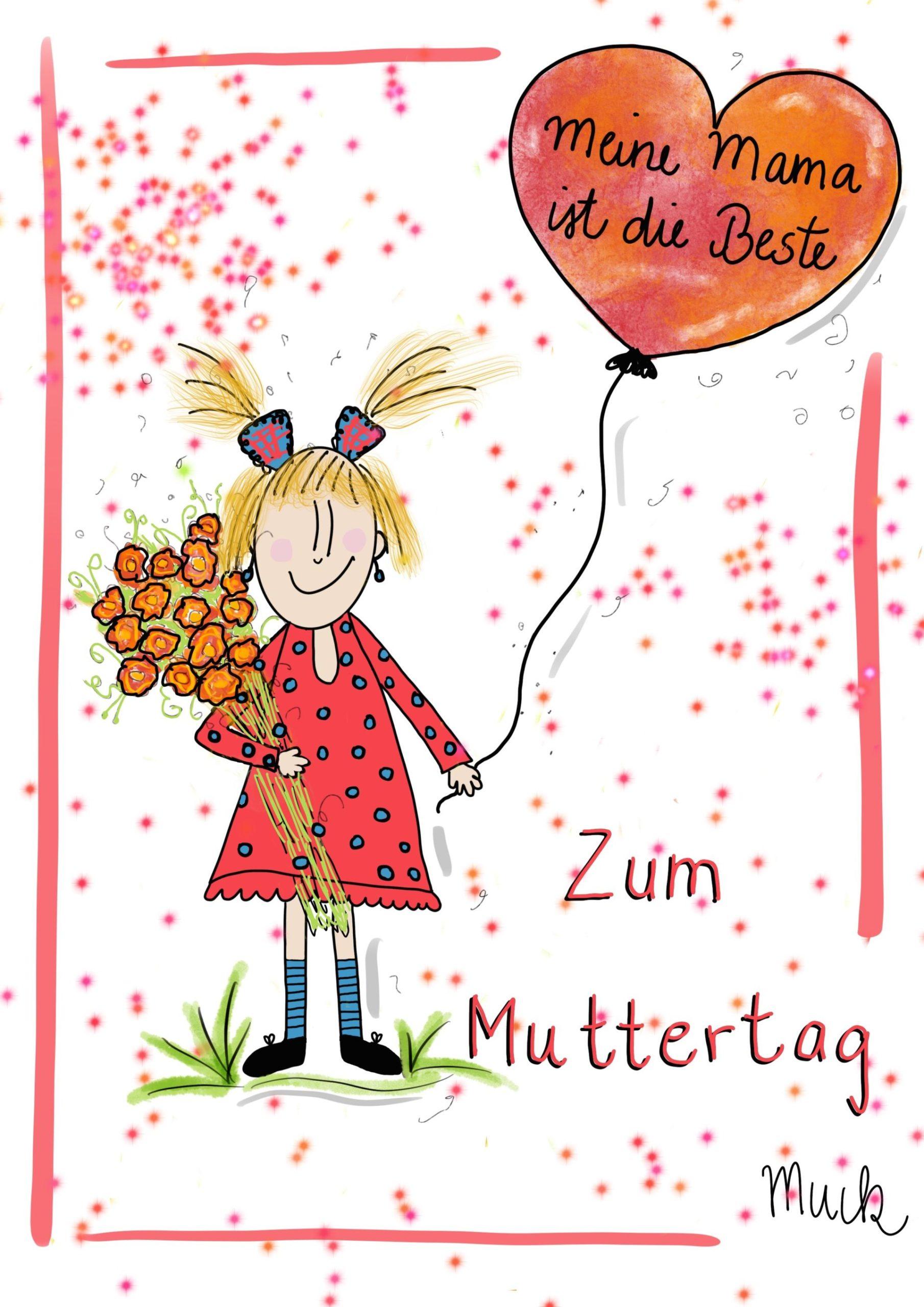 Zum Muttertag - Claudia Weber - Muck's Arts