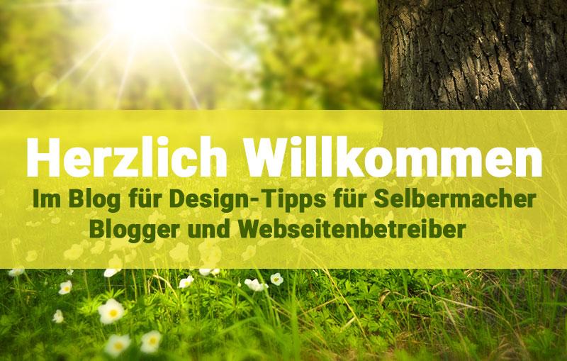 """Mein neuer Blog: """"Design-Tipps für Selbermacher"""""""